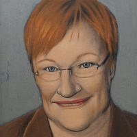 Suomen ensimmäinen naispresidentti 2000-2012 Tarja_Halonen