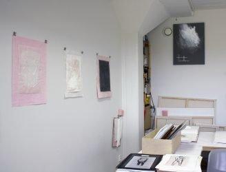 Sirpa Häkli, Avoin ateljee (1), toukokuu 2017 | Open Studio (12), May 2017