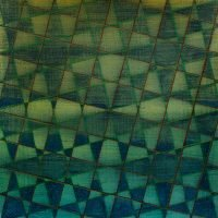 Green Grid on Paper