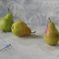 Päärynät ja sudenkorento