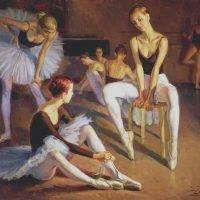 Harjoitus tanssiluokassa