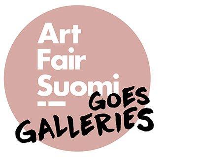 Art Fair Suomi 2021 -liikemerkki
